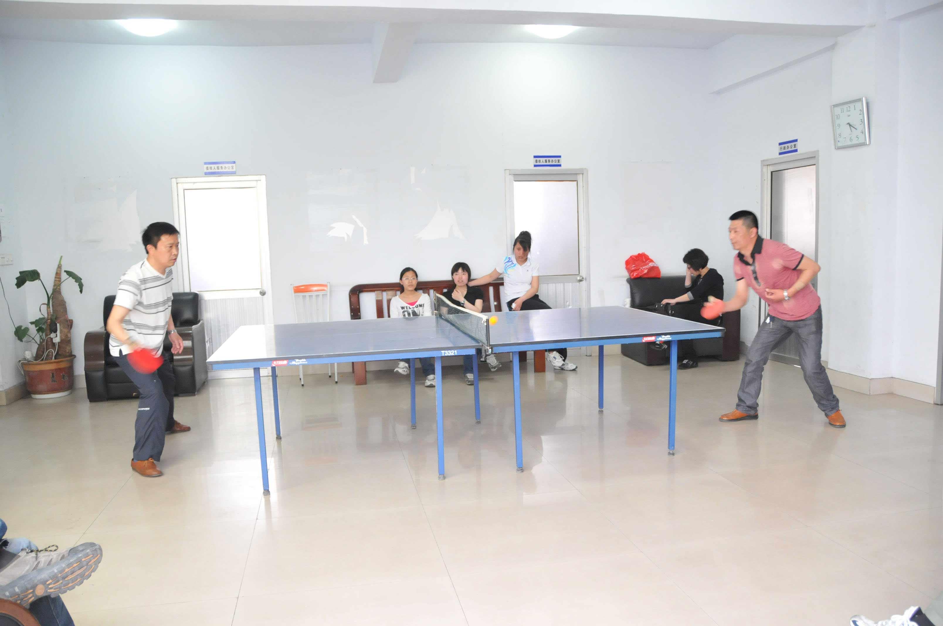 五·四青年节乒乓球比赛